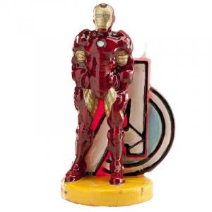Bougie 9,5 cm Iron Man