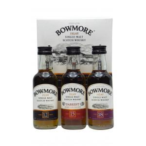 Bowmore Distillers Collection 3 X 50ml
