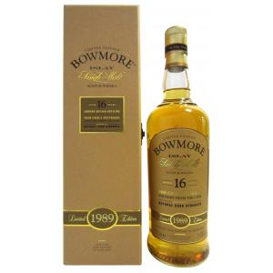Bowmore Matured Cask Strength 16 Year old 1989