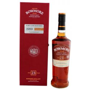 Bowmore Port Cask Matured 23 Year old 1989