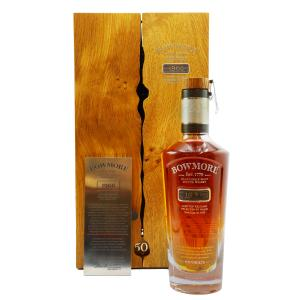 Bowmore Single Cask 50 Jaren 1966