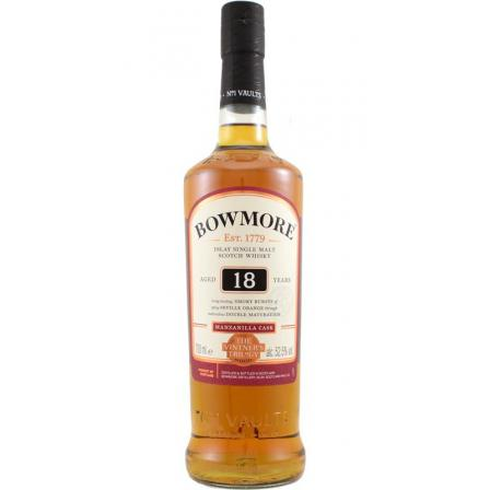 Bowmore Vintner's Trilogy 1st Release 18 Years