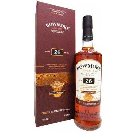 Bowmore Vintner's Trilogy 2nd Release 26 Year old