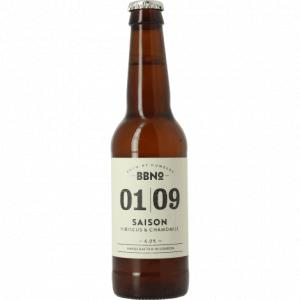 Brew By Numbers 01/09 Saison Hibiscus & Chamomile