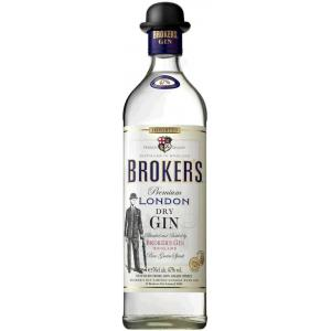 Brokers Dry Gin 47% Vol. Premium London Dry Gin 1L