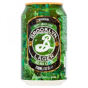 Brooklyn Hoppy Amber Lager Can