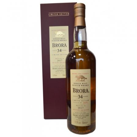 Brora 34 Ans Limited Release 2017
