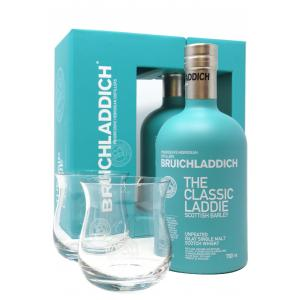 Bruichladdich Classic Laddie With 2 X Glasses Gift Pack
