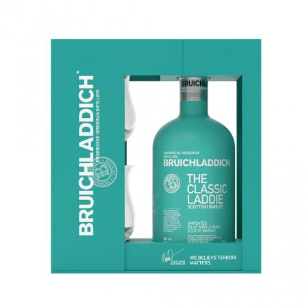 Bruichladdich The Classic Laddie Whisky 70cl Gift