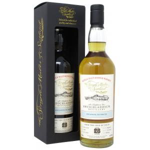 Bruichladdich The Single Malts Of Scotland Single Cask 26 Year old 1992