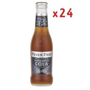 Caja Fever Tree Madagascan Cola 24u