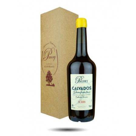 Calvados Du Domfrontais 12 Year old Domaine Pacory