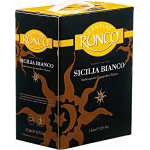 Cantine Ronco Sicilia Bianco Weinschlauch Double Magnum