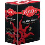Cantine Ronco Sicilia Rosso Weinschlauch Double Magnum