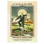 Canvas Print Absinthe Ban In France II Xxl Poster