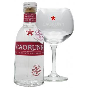 Caorunn Raspberry With Free Branded Glass Goblet Gin 50cl