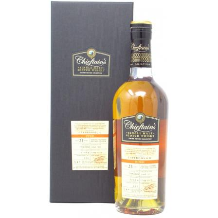 Caperdonich Chieftain's Single Cask 23 Anys 1995
