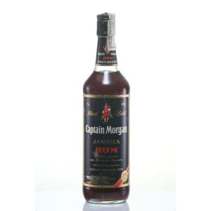 Captain Morgan Black '80s Bottling Old Bottling 75cl