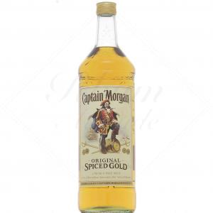 Captain Morgan Original Spiced Gold + Pompe 3L
