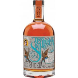 Captn Webb's Two Swallows Candied Citrus and Salted Caramel Spiced Rum 50cl