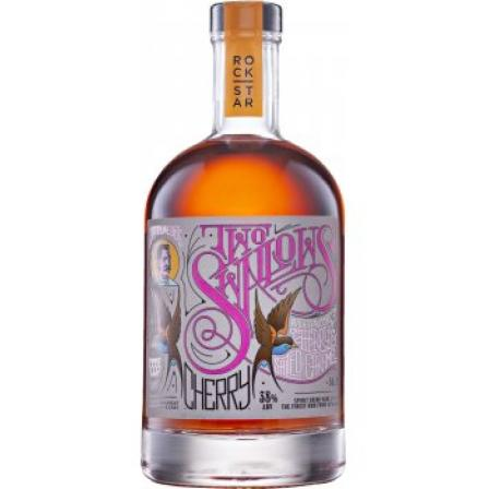 Captn Webb's Two Swallows Cherry and Salted Caramel Spiced Rum 50cl