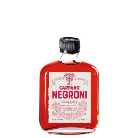 Carpano Cocktail Ready To Drink Negroni 100ml