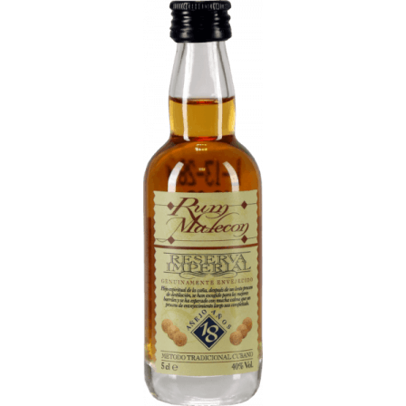 Carribean Spirits Malecon Reserva Imperial 18 Ans Miniatur 50ml