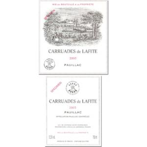 Carruades de Lafite 375ml 2006
