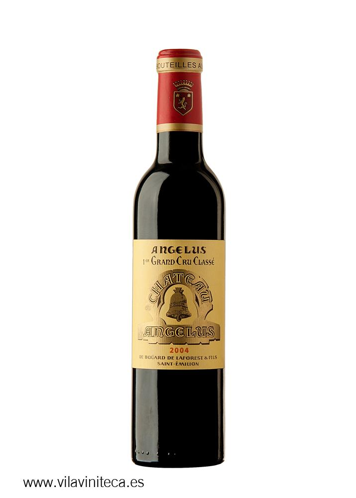 Ch teau ang lus 375ml 2004 wine red for Chateau angelus