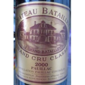 Château Batailley 2000