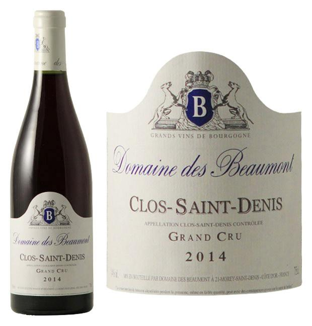 Ch teau beaumont clos saint denis 2014 wine red for Chateau beaumont