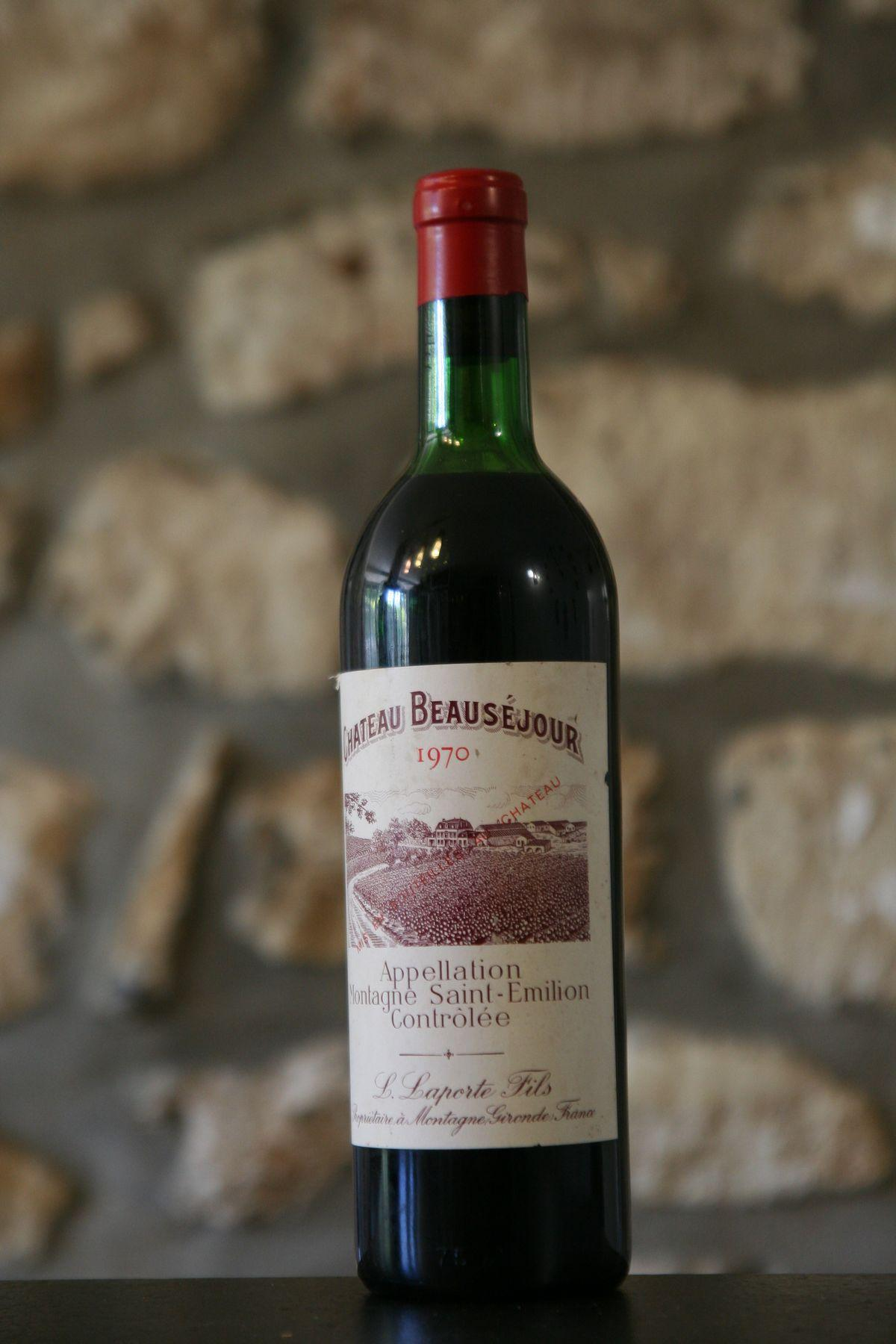 Buy chateau beausejour 1970 at uvinum for Buy chateaubriand