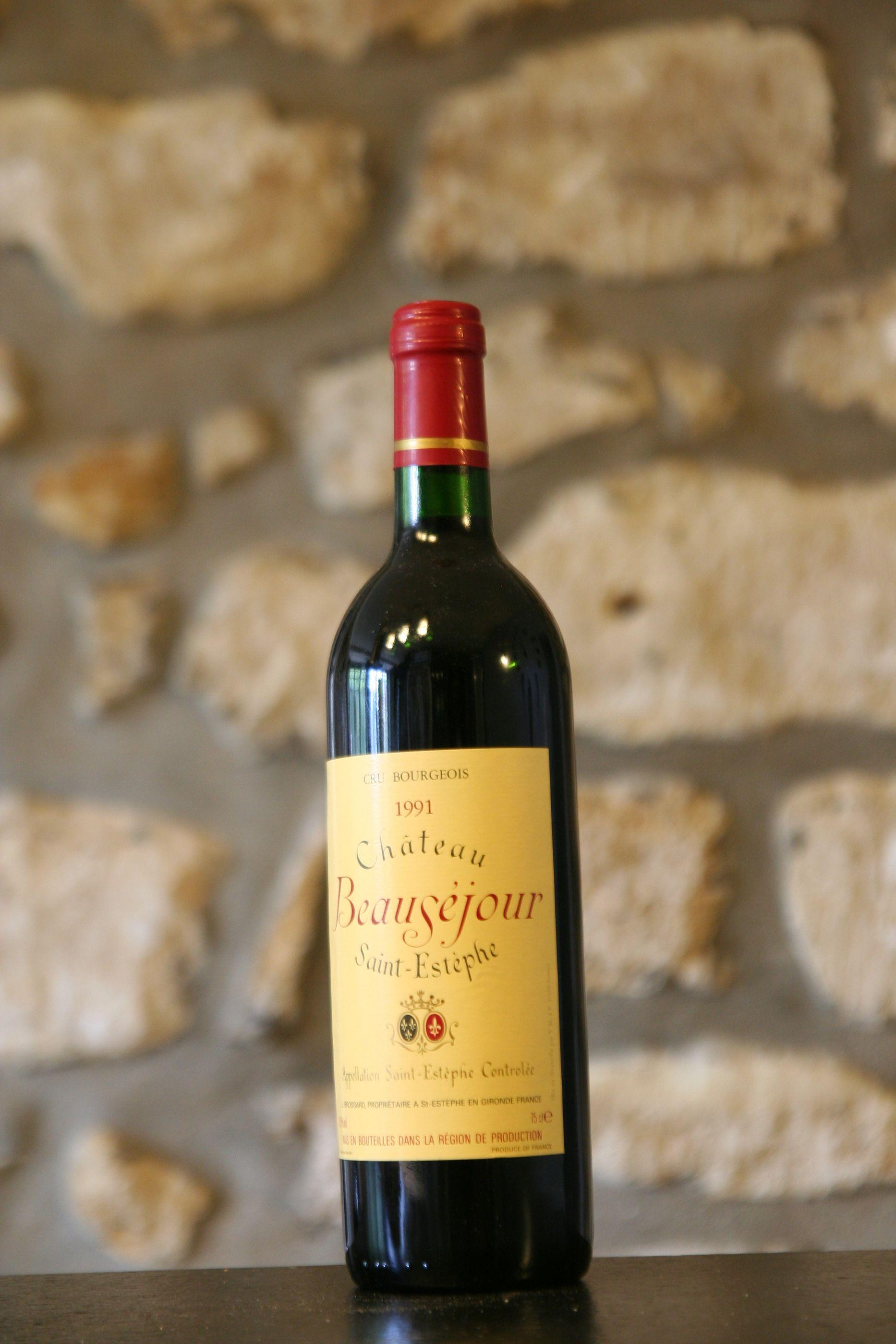 Buy Chateau Beausejour 1991 at Uvinum