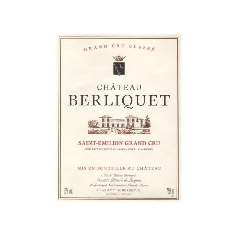 Buy ch teau berliquet 2007 at uvinum for Buy chateaubriand