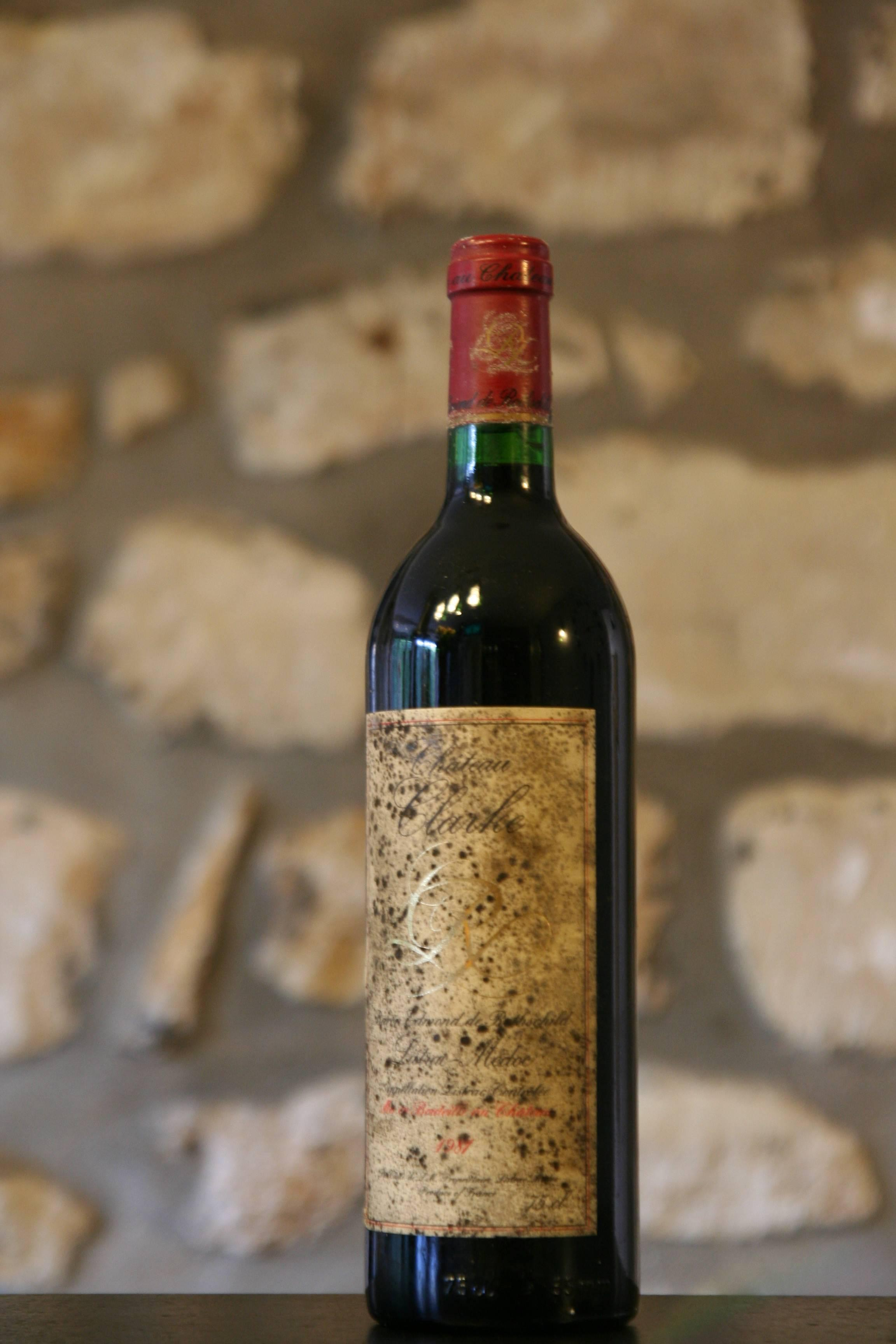 Chateau clarke 1981 vin rouge for Chateau clarke