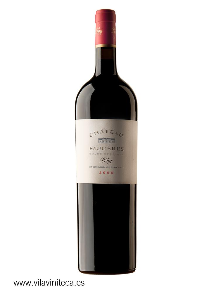 Ch Teau Faug Res Cuv E Special P By Magnum 2006 Wine Red