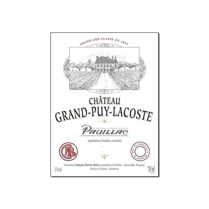 Buy Ch Teau Grand Puy Lacoste 2001 At Uvinum