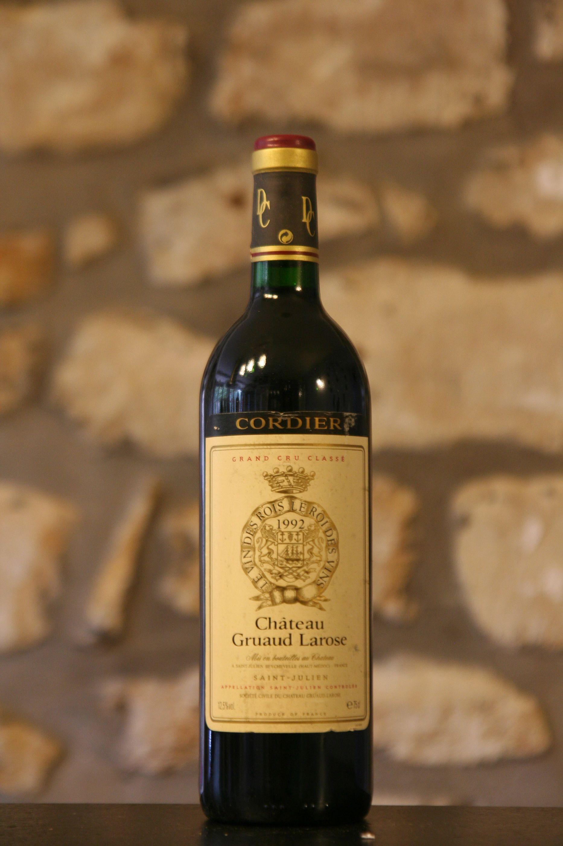 Buy 1992 ch teau gruaud larose for Buy chateaubriand