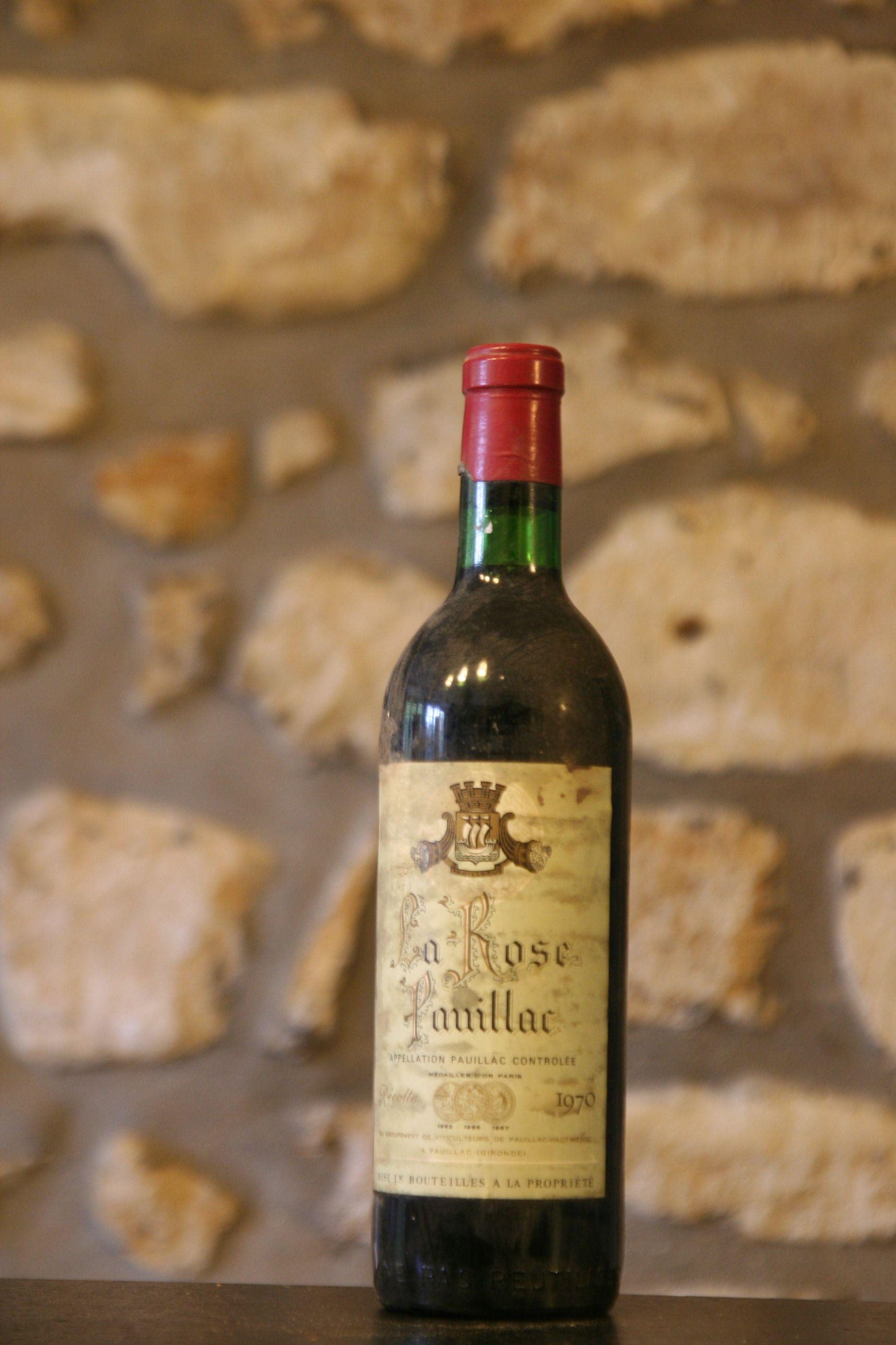 Buy chateau la rose pauillac 1970 at uvinum for Buy chateaubriand