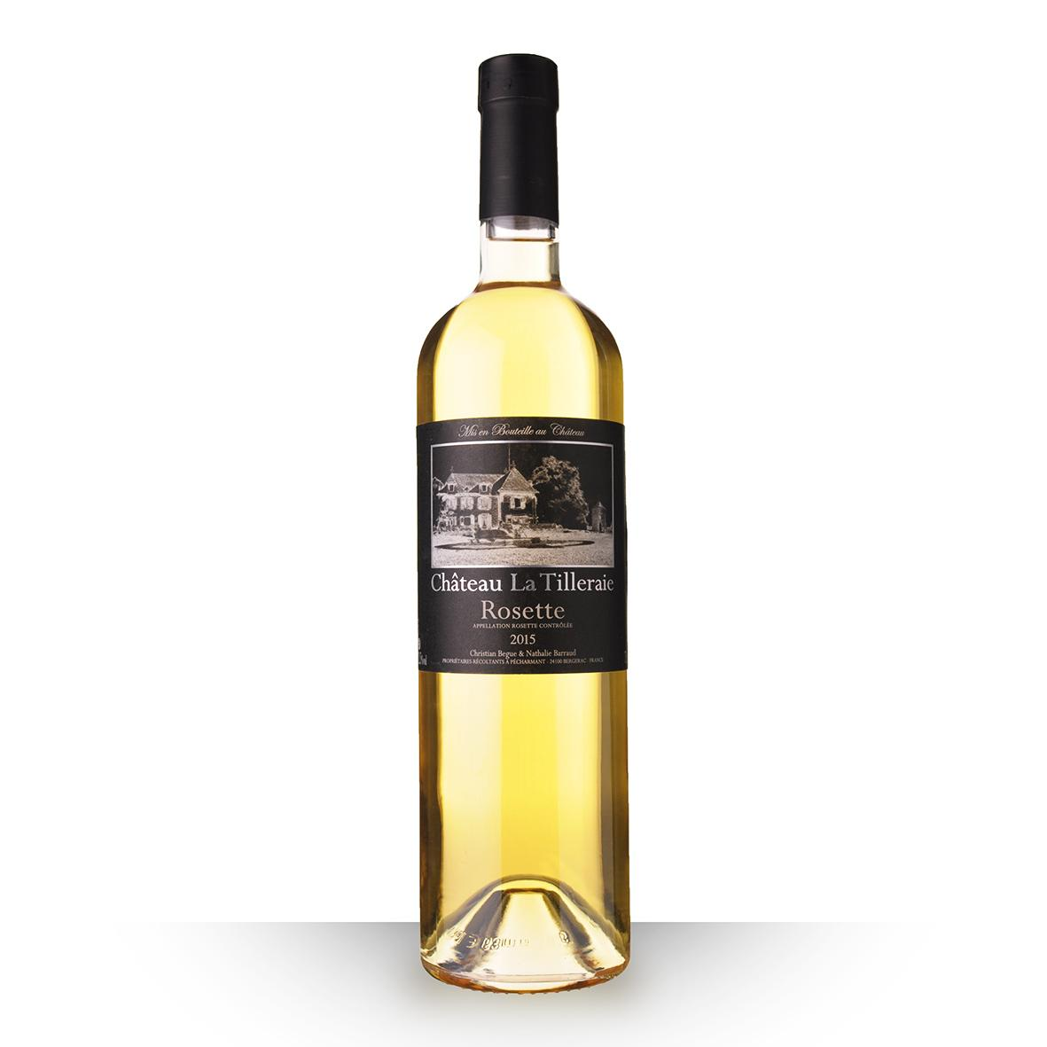 Price Of Ch Teau La Tilleraie Blanc 2015 From On Uvinum