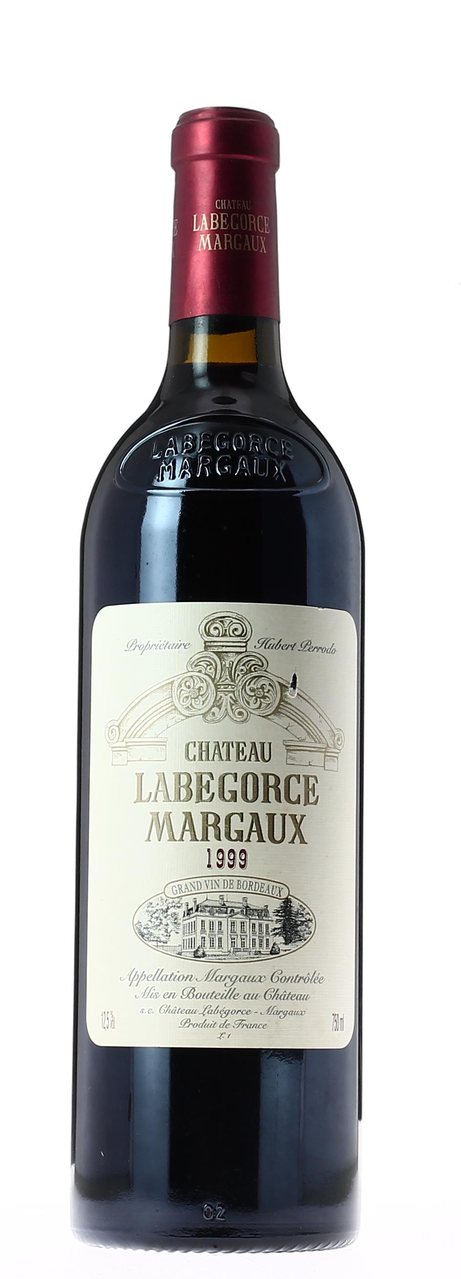 chateau labegorce margaux 1999 vin rouge. Black Bedroom Furniture Sets. Home Design Ideas