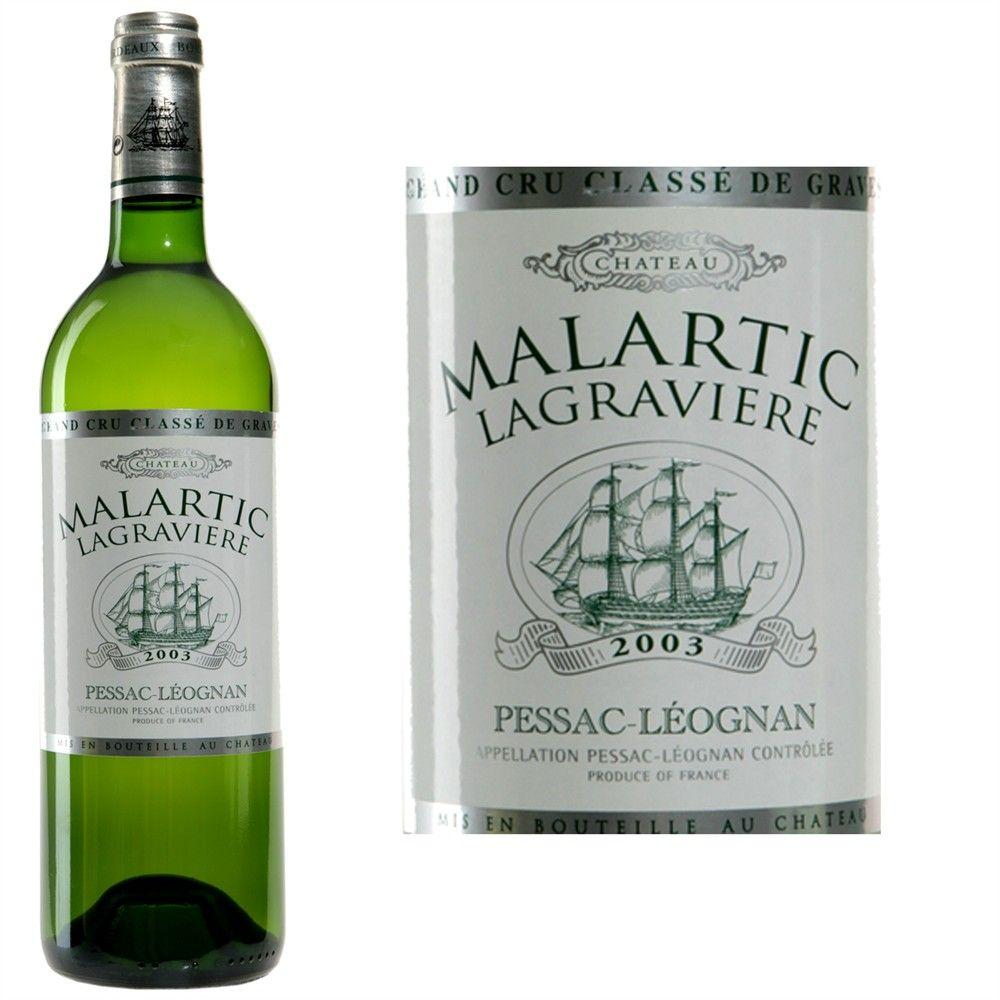 Price Of Ch Teau Malartic Lagravi Re Blanc 2008 From 47
