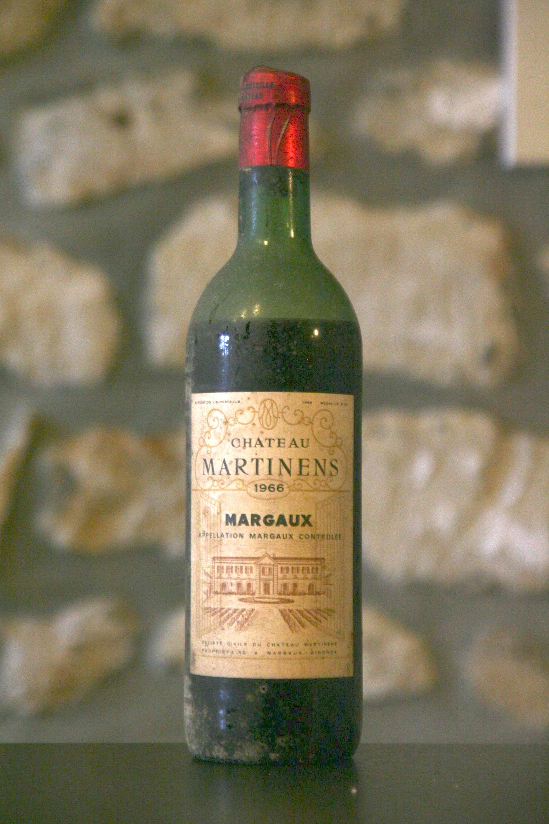 Price Of Chateau Martinens 1966 From On Uvinum