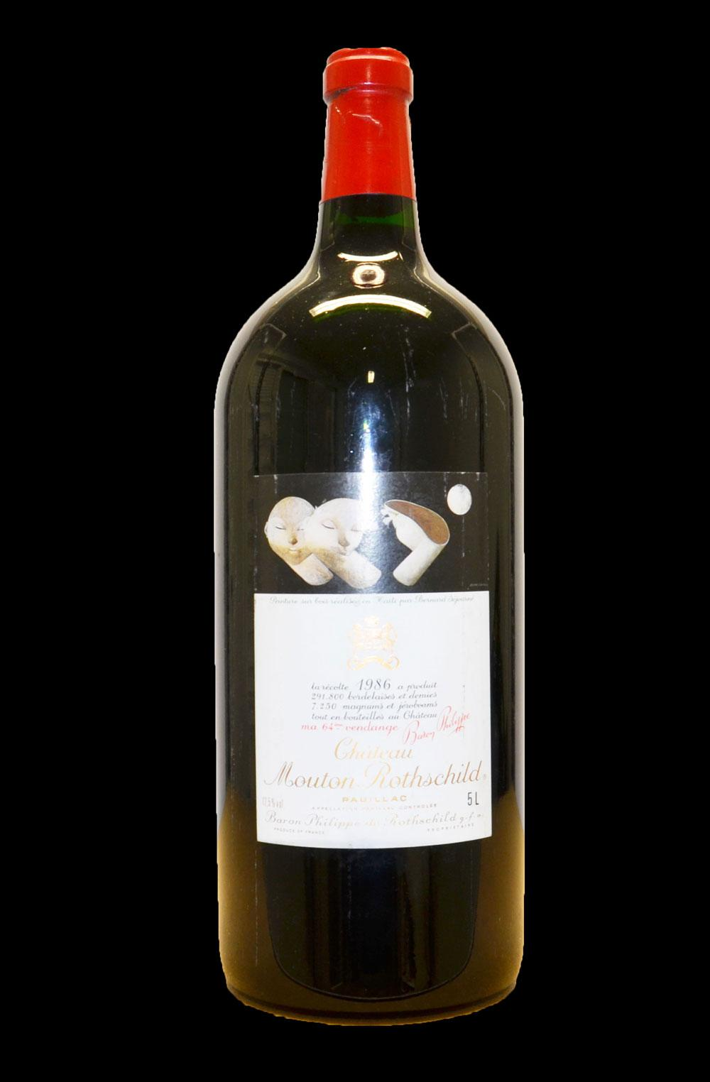 Buy ch teau mouton rothschild box 1986 at uvinum for Buy chateaubriand