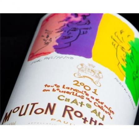 Château Mouton Rothschild Imperial 2001