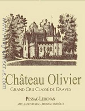 Ch teau olivier 1980 wine red for Chateau olivier