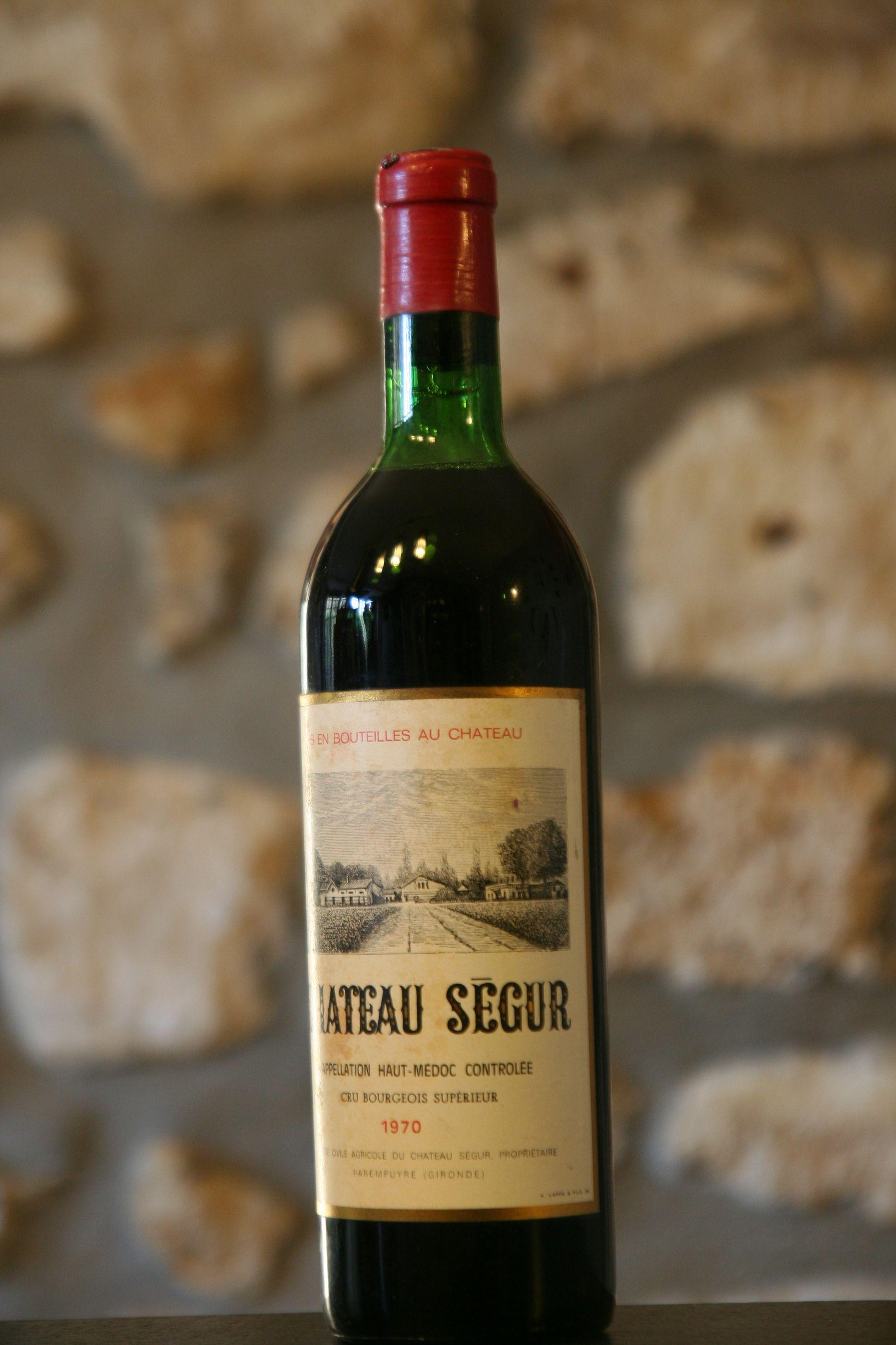 Buy ch teau segur 1970 in belgium for Buy chateaubriand
