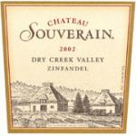 Chateau Souverain Dry Creek Valley Zinfandel 2002