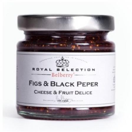 Cheese Delight Figs and Black Pepper 130g