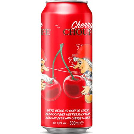 Cherry Chouffe Lata 50cl